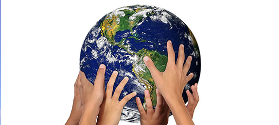 Hands holding up a globe. Free speech, immigration, Obama, racism, judgement, forgiveness, hope, heaven, christmas, new age.