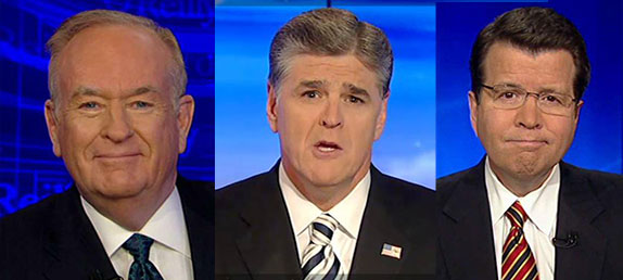Bill O'Reilly, Sean Hannity, and Neil Cavuto: Fox News, CNN, and other local TV news show hosts discuss LivePrayer.